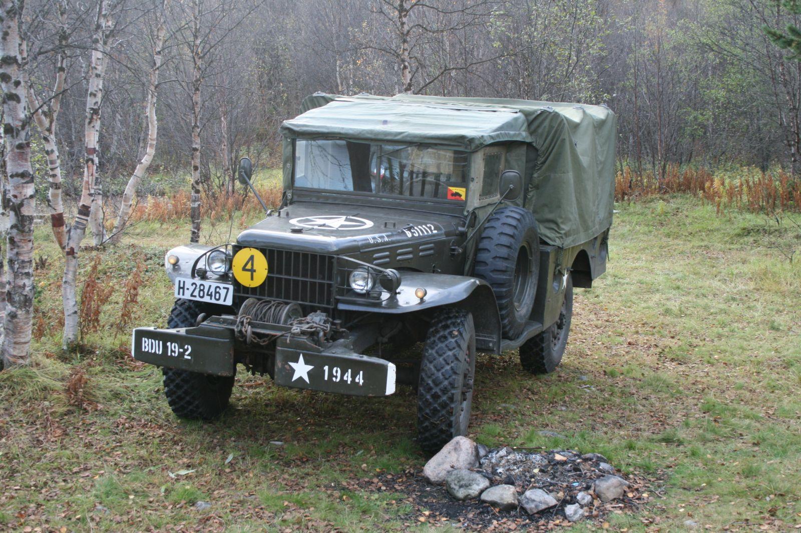 Dodge WC 52  Patrol  Galleri  Offroadno