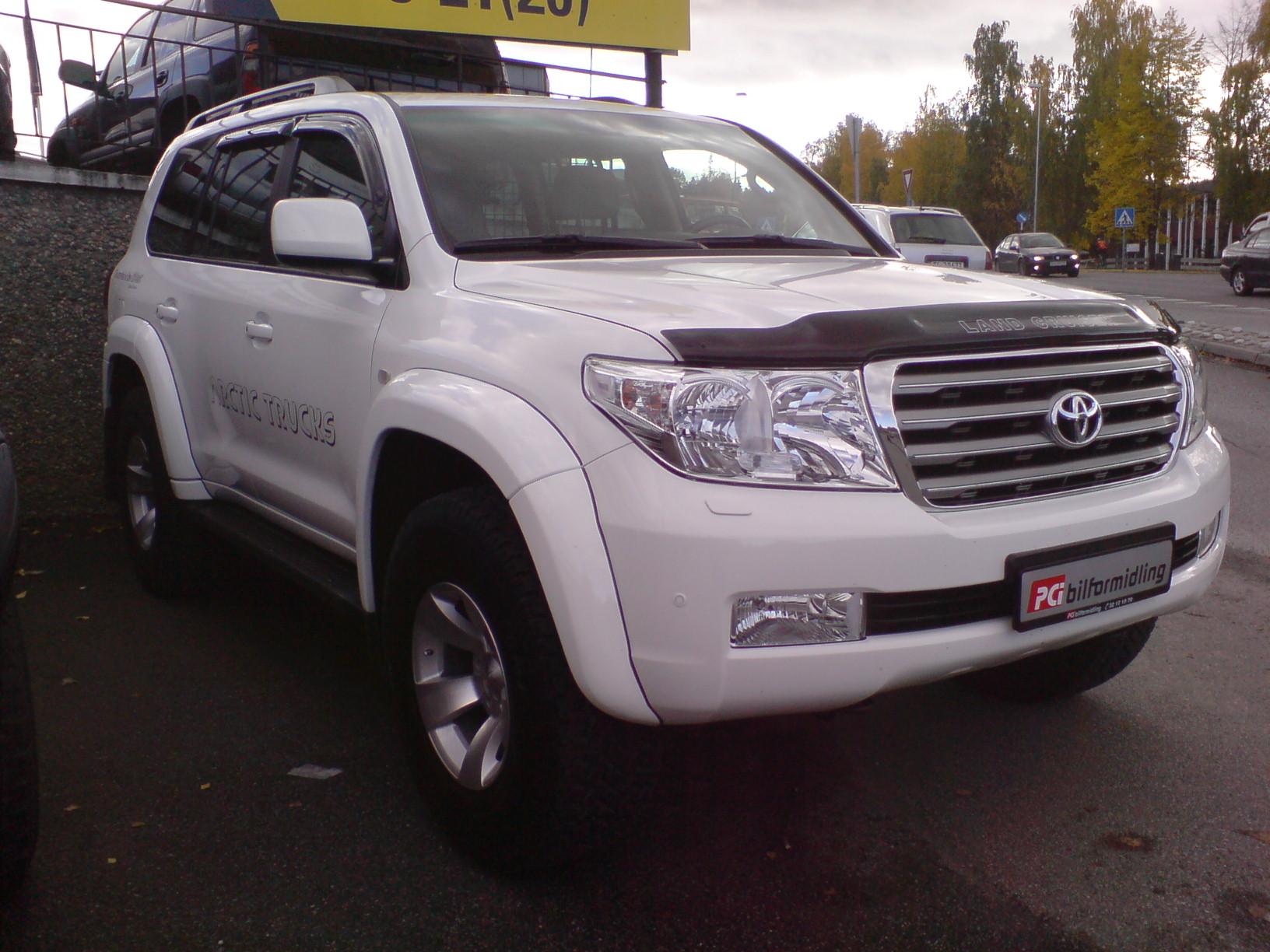 Toyota arctic truck til salgs