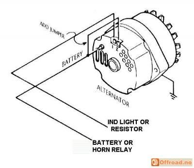 Delco Remy Alternator Wiring Diagram Internal on alternator wiring diagram hitachi